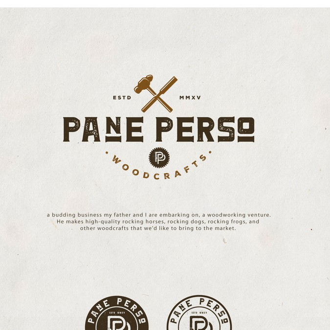 Create A Captivating Logo For An Artisan Woodworking Company Pane