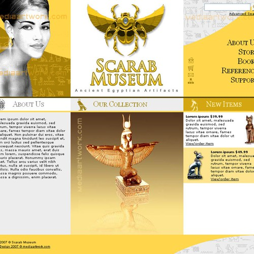 Design finalista por Media Artwork