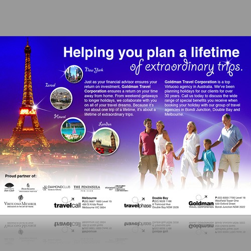 Travel agency newspaper advertisement other business or for Advertising agency uk