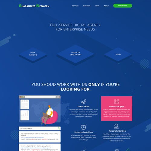 Diseño finalista de Designtypw