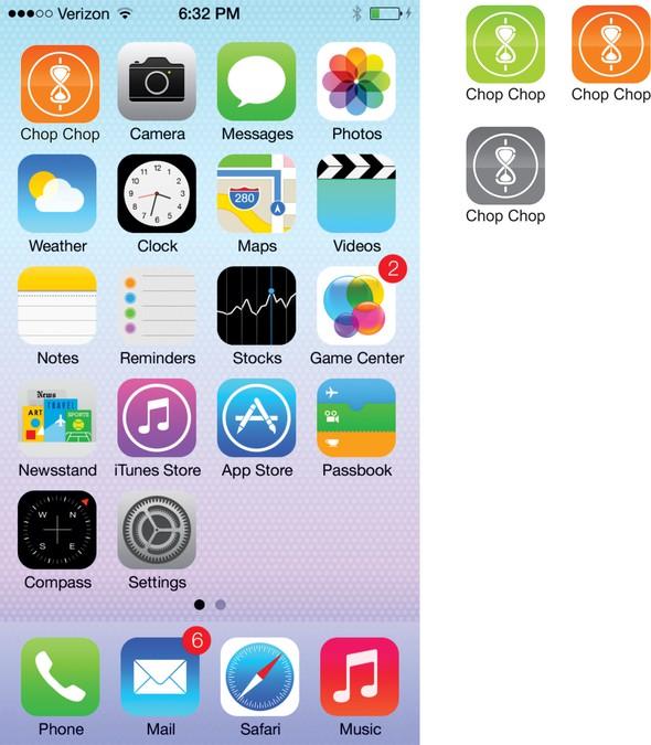 Winnend ontwerp van Let'sChat