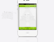 Mobile app design by James Bryce