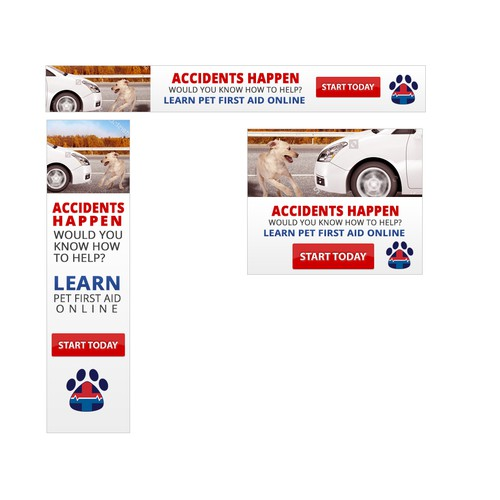 Car Accident Banner | Banner ad contest