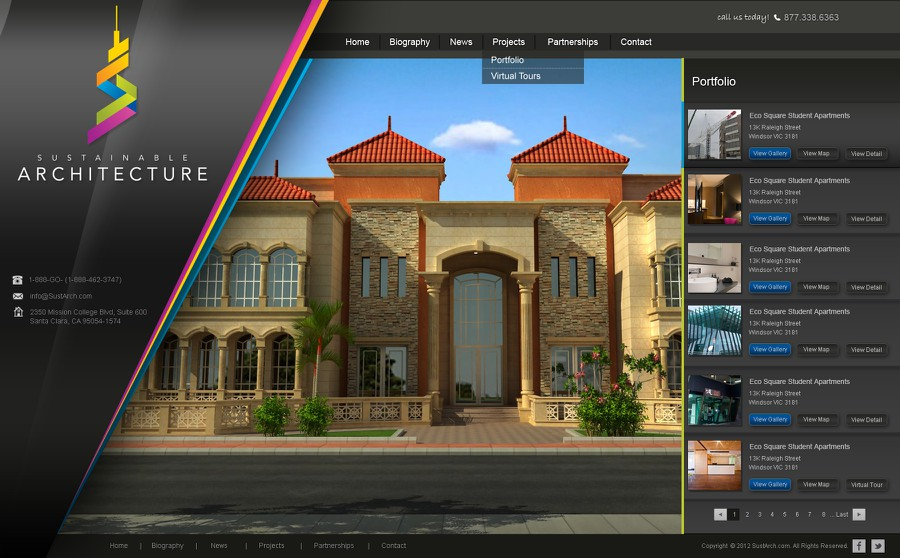 Design vencedor por codespur