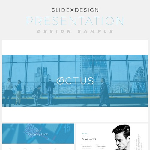 Runner-up design by SlidexDesign