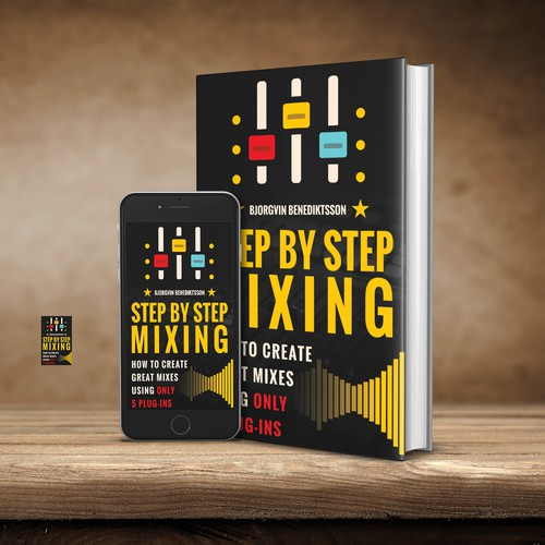 Design a Best-Selling Book Cover for a Music Producer Design by alehandro petrovic