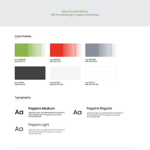Diseño finalista de DesignerFizz