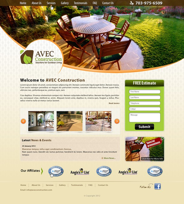 Winning design by WebXpert