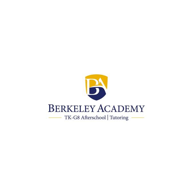 Design education school tutoring logo for berkeley for Logo sito web