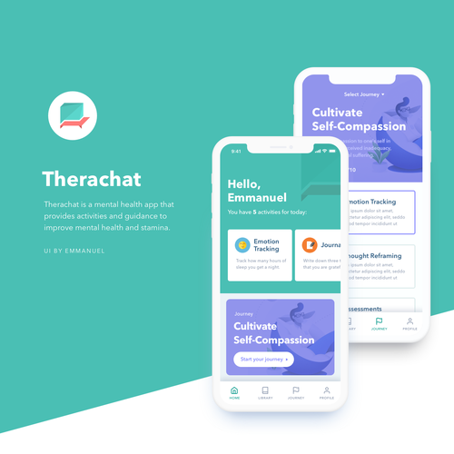 Mental Health App Needs Fresh Design Ideas
