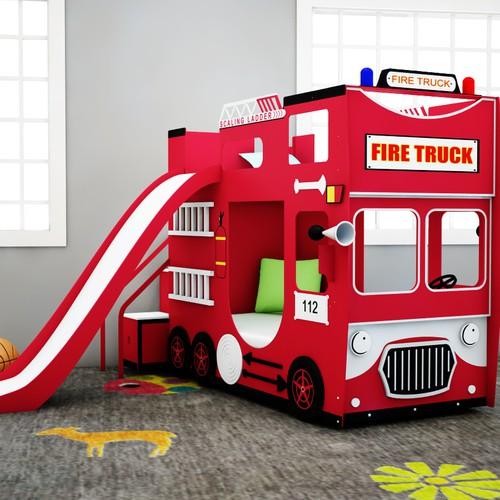Best 25 Fire Truck Beds Ideas On Pinterest: New Design Of Fire Engine Bunk Bed