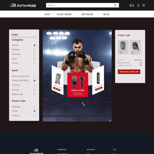 Runner-up design by Designersantu
