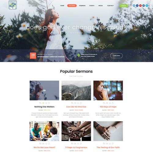 Design finalista por London Web View
