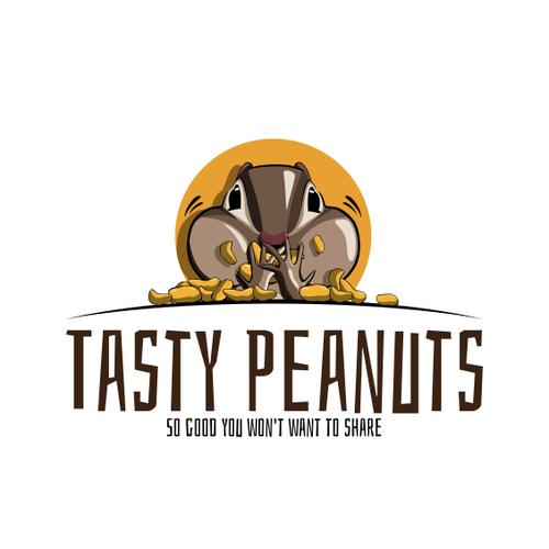 tasty peanuts logo needed logo design contest