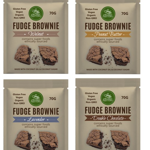 Nationwide food company needs a new package design Design by Studio C7