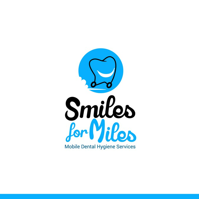 Fun Yet Professional Logo And Business Card For Mobile Dental Hygiene