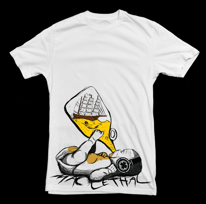 New Abstract Artsy T Shirt Design Wanted For Mac Lethal