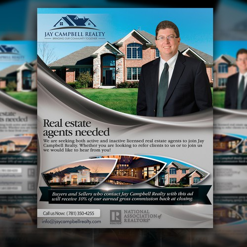 real estate ad flyer postcard flyer or print contest