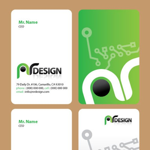 Runner-up design by impress
